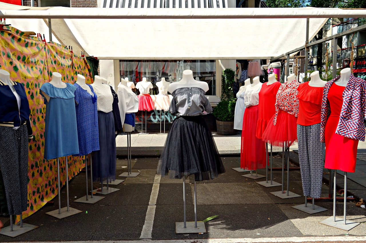 Internetowy butik z damską odzieżą