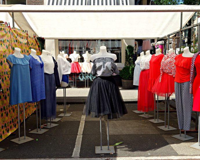 Interntowy butik z odzieżą damską